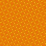 Abstract naadloos oranje patroon Royalty-vrije Stock Fotografie