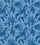 Abstract naadloos organisch patroon Vector illustratie Stock Foto's