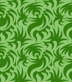 Abstract naadloos organisch patroon Vector illustratie Royalty-vrije Stock Afbeelding