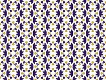 Abstract naadloos ornamentpatroon Vector illustratie vector illustratie