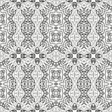 Abstract naadloos overzichtspatroon Royalty-vrije Stock Afbeelding