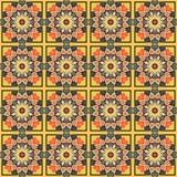 Abstract naadloos patroon Royalty-vrije Stock Fotografie