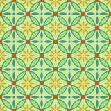 Abstract Naadloos Patroon Stock Afbeelding