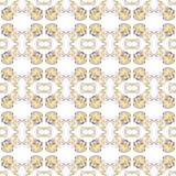 Abstract Naadloos Patroon Stock Foto's