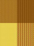 Abstract naadloos patroon als achtergrond stock illustratie