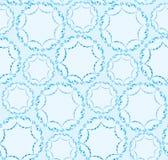 Abstract naadloos patroon. bloemen sneeuwornament royalty-vrije illustratie