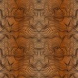 Abstract naadloos patroon in bruine tinten met gradiënt Royalty-vrije Stock Afbeelding