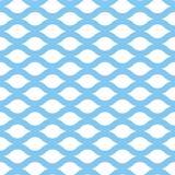 Abstract Naadloos Patroon De geometrische druk van het manierontwerp Zwart-wit blauw behang royalty-vrije illustratie
