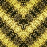 Abstract naadloos patroon die met strepen op reptielhuid lijken stock illustratie