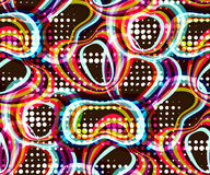 Abstract Naadloos Patroon Geometrische motieven, heldere kleuren vector illustratie