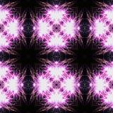 Abstract naadloos patroon herinnerend van vuurwerk vector illustratie