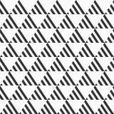 Abstract Naadloos Patroon Het herhalen van geometrische tegels van streep royalty-vrije illustratie