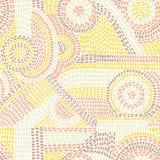 Abstract Naadloos Patroon Leuke druk voor textiel Lapwerk binnen stock illustratie