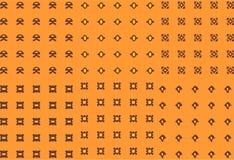 Abstract naadloos patroon met achtergrond royalty-vrije stock afbeeldingen