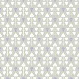 Abstract naadloos patroon met bladeren en paddestoelen Royalty-vrije Stock Afbeelding