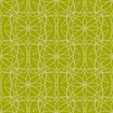 Abstract naadloos patroon met bloemenelementen Royalty-vrije Stock Fotografie
