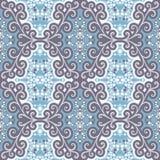 Abstract naadloos patroon met bloemenmotieven Royalty-vrije Stock Foto's