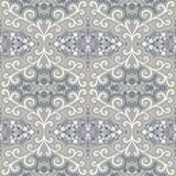 Abstract naadloos patroon met bloemenmotieven Royalty-vrije Stock Fotografie