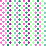 Abstract naadloos patroon met cirkels Stock Fotografie