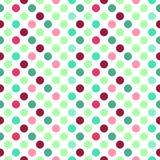 Abstract naadloos patroon met cirkels Royalty-vrije Stock Fotografie