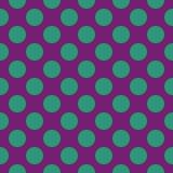 Abstract naadloos patroon met cirkels Stock Afbeeldingen