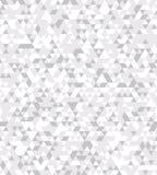 Abstract naadloos patroon met de textuur van de driehoeken Stock Foto's