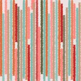 Abstract naadloos patroon met hand getrokken kleurrijke strepen Vector Stock Afbeeldingen