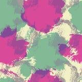 Abstract naadloos patroon met kleurrijke vlekken en vlekken Royalty-vrije Stock Foto's