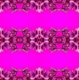Abstract naadloos patroon met lilac bloemen Royalty-vrije Stock Fotografie