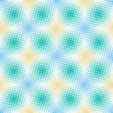 Abstract naadloos patroon met punten Royalty-vrije Stock Afbeeldingen