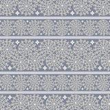 Abstract naadloos patroon met sierstrepen Stock Afbeeldingen