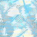 In abstract naadloos patroon Modern abstract ontwerp voor document, behang, dekking, stof en andere gebruikers Vector illustratie Stock Afbeelding