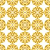 Abstract Naadloos Patroon Uitstekend Ornamentpatroon stock illustratie