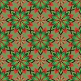 Abstract Naadloos Patroon Uitstekend Ornamentpatroon Islamitisch, AR Royalty-vrije Stock Afbeeldingen