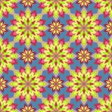 Abstract Naadloos Patroon Uitstekend Ornamentpatroon Islamitisch, AR Royalty-vrije Stock Foto