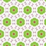 Abstract naadloos patroon van een cirkelvorm Royalty-vrije Stock Foto's