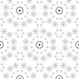 Abstract naadloos patroon van een cirkelvorm Stock Foto