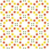 Abstract naadloos patroon van een cirkelvorm Royalty-vrije Stock Fotografie