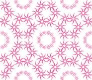 Abstract naadloos patroon van een cirkelvorm Stock Foto's