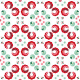 Abstract naadloos patroon van een cirkelvorm Stock Fotografie