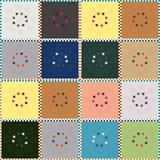 Abstract naadloos patroon van enige het bedekken tegels Royalty-vrije Stock Foto's