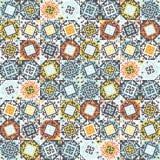 Abstract naadloos patroon van geometrische vormen Etnische motieven Royalty-vrije Stock Foto