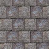 Abstract naadloos patroon van grijze steenblokken in de muur Royalty-vrije Stock Afbeelding