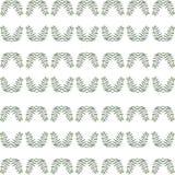 Abstract naadloos patroon van groene installaties Royalty-vrije Stock Fotografie