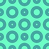 Abstract naadloos patroon van kleurencirkels Royalty-vrije Stock Foto's