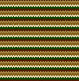 Abstract naadloos patroon van kleurenzigzag Royalty-vrije Stock Foto