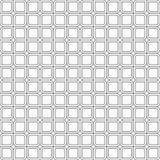 Abstract naadloos patroon van vierkanten met rond gemaakte hoeken Stock Afbeelding