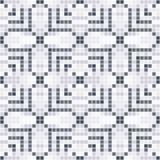 Abstract naadloos patroon van vierkanten textuur van ceranic Royalty-vrije Stock Foto's