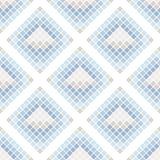 Abstract naadloos patroon van vierkanten textuur van ceranic Stock Afbeeldingen