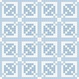 Abstract naadloos patroon van vierkanten textuur van ceranic Stock Fotografie
